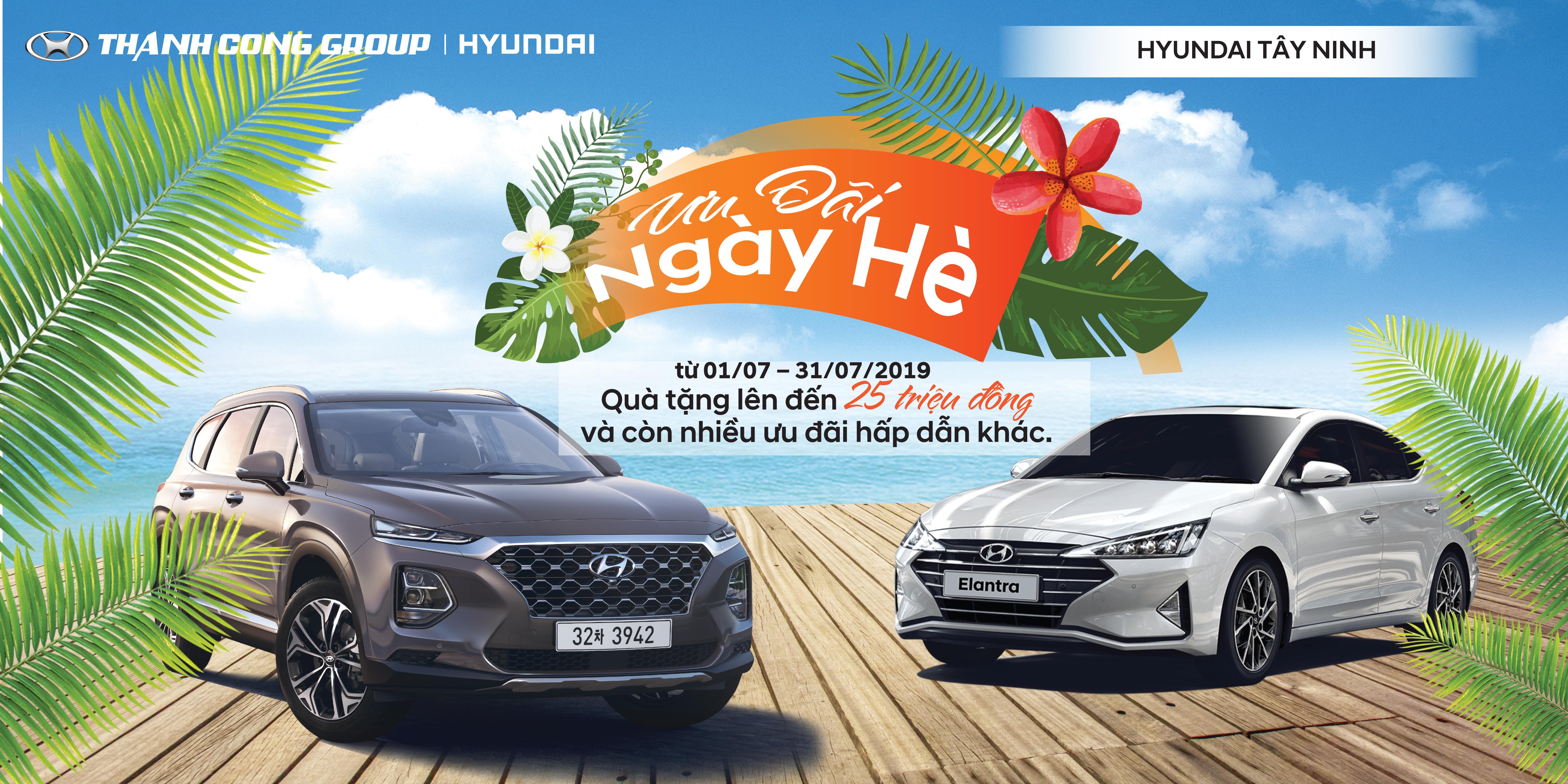 Ưu Đãi Ngày Hè tại Hyundai Tây Ninh