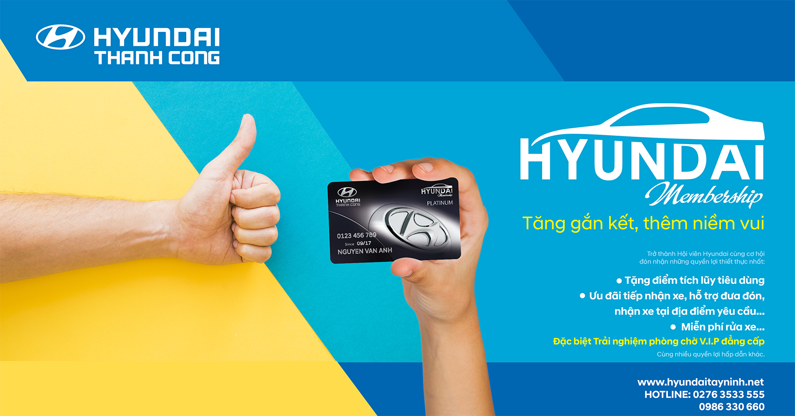 Hyundai Membership - Trải Nghiệm Quyền Lợi VIP