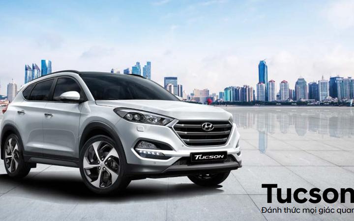 Hyundai Tucson thế hệ hoàn toàn mới mang ngoại hình lịch lãm